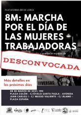 Comunicado oficial Plataforma 8M #LorcaLateIgualdad