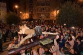 Los Legionarios congregan a numeroso p�blico en el Martes Santo de Puerto de Mazarr�n