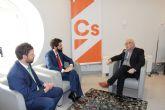 Ciudadanos recoge la demanda de los jóvenes empresarios de centralizar y ordenar los cursos de formación en Cartagena