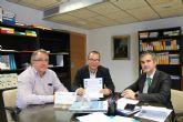 Agricultura colaborará con el CEBAS y la UPCT en la difusión de proyectos de cultivos sin suelo