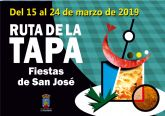 Listado de ganadores del sorteo de la ruta de la tapa de las fiestas patronales 2019