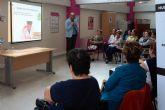 Las mujeres de la asociación 'Isabel González' torreña se informan sobre medicina estética