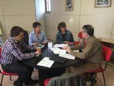 Podemos se reúne con la Comunidad de Regantes de Pliego y conoce in situ para los proyectos para el  regadío