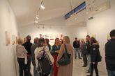 La artista lumbrerense Yolanda Martínez expone su obra 'Encuentros' en el Centro Cultural Casa de los Duendes