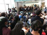 El IES Gerardo Molina conquista el hall del Ayuntamiento de Torre-Pacheco 'Musiqueando'