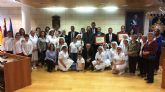 El Ayuntamiento realiza un reconocimiento institucional a la Hospitalidad de Lourdes y su delegaci�n en Totana con motivo de su 50 aniversario, y coincidiendo con el Año Jubilar Hospitalario (1969-2018)