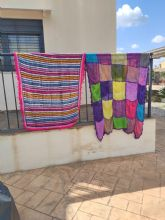 Un proyecto de la UMU anima a vestir los balcones de Murcia para 'arropar a quienes nos cuidan'