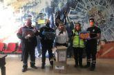 Mascarillas Solidarias dona 1.000 unidades a Policía Local, Bomberos y Protección Civil