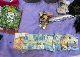 La Guardia Civil desmantela en Los Alcázares un activo punto de venta de drogas al menudeo