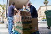 Logística Jorber y MadnessCoffee participan en el operativo de emergencia con 2 pallets de alimentos