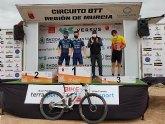Manuel Fuella Crespo, tercer puesto en categoría Elite, y Vanesa Anón Mansilla, segunda en categoría Féminas B en la XXII Bike Maratón Ciudad de Totana