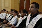 La UCAM gradúa a más de cien alumnos en su sede de Cuba