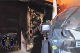 Sofocado el incendio de un cuadro eléctrico en un edificio junto al Palacio de Deportes