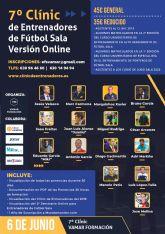El 6 de Junio se celebra la 7ª Edición del Clínic de Entrenadores de Fútbol Sala. Versión Online
