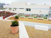 Inaugurado el 'Jardín de los recuerdos' del Centro de Día de Mazarrón