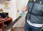 La Guardia Civil desmantela un activo punto dedicado a la venta ininterrumpida de varios tipos de sustancias estupefacientes