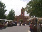 Este domingo se celebró el Mercadillo Artesano de La Santa con la asistencia de numeroso público