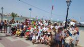 Los Hogares de Pensionista despiden el curso con una excursión en barco por el Mar Menor