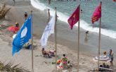 Cartagena izará el miércoles banderas azules y Q de calidad en sus playas
