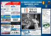 70 participantes estarán en Mazarrón para competir en el XI Trofeo Costa Cálida de Culturismo