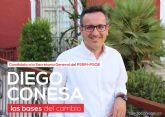 Diego Conesa presenta su candidatura a la Secretar�a General del PSRM-PSOE