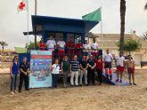 La Comunidad activa el dispositivo del Plan COPLA en 14 puestos de las playas de Mazarr�n