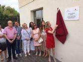 Inauguradas dos nuevas salas en el sótano del consultorio médico de La Alcayna en Molina de Segura