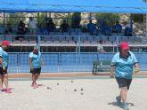 El equipo femenino del club de petanca 'La Salceda', campeón de la liga regional