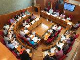 Balance de votaciones del Pleno Ordinario del Ayuntamiento de Lorca correspondiente al mes de junio de 2018