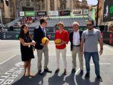 El corazón de Murcia acoge hoy y mañana el mayor espectáculo de baloncesto 3x3 de España