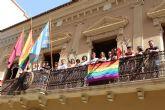 Jumilla colocará por quinto año la bandera del orgullo LGTBI+ en el balcón del Ayuntamiento