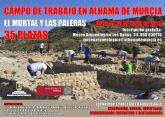 Abierto el plazo de inscripci�n para el campo de trabajo en El Murtal y Las Paleras