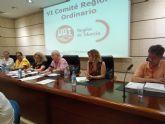 El VI comité regional de UGT aprueba resoluciones de urgencia en defensa de las pensiones, por el desbloqueo del convenio de hostelería y para que se retome ya la agenda social tras las elecciones