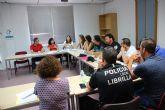La Mesa de Coordinaci�n Policial se re�ne para analizar los datos de violencia de g�nero en Alhama y Librilla