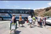 El lunes arrancan los horarios de verano de Alsa para ir a las playas cartageneras