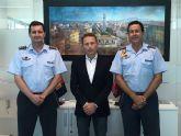 El Alcalde de Torre Pacheco, Antonio León recibe al actual Coronel Director de la AGA, Miguel Iborra