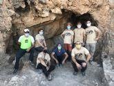 Finalizan la campaña de excavación en el poblado ibérico de la Sierra del Balumba, Santomera