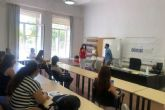 Una treintena de personas desempleadas inscritas en la ADLE participan en el proceso de selección de una empresa de limpieza cartagenera