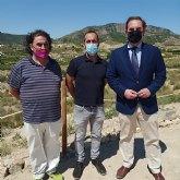 Visita del director general de competitividad y calidad turística a Ricote