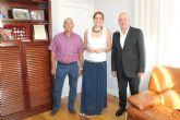 La Alcaldesa de Archena recibe oficialmente a los recien nombrados Jueces de Paz (titular y sustituto) del municipio