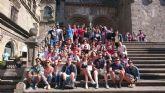 Un grupo de jóvenes disfruta esta semana de Galicia gracias al T-LA de verano