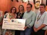 Club Rotary de Torre Pacheco entrega 10.000€ a diferentes asociaciones solidarias