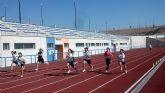 El Consejo de Gobierno de la Región de Murcia concede una ayuda de 40.000 euros para la reparación de la pista de atletismo, en la instalación deportiva 'Manuel Ruiz Pérez'
