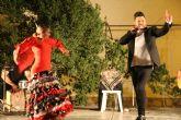 Unas 200 personas disfrutan de la noche de flamenco del 'Nogalte Cultural'