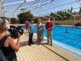 Más de 12.500 personas disfrutan de las piscinas de verano en su primer mes de apertura