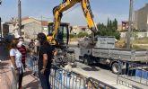 El Ayuntamiento torreño impulsa la mejora de la red de saneamiento de la Calle Diputación