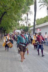 Los Tercio de Olivares recrearon la Historia de de la Navegación española