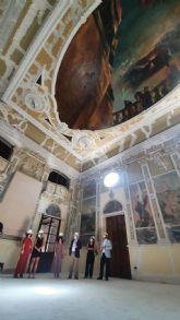 El alcalde de Lorca insiste en la necesidad de trabajar en la búsqueda de alternativas que permitan financiar la culminación rehabilitación del Casino Artístico Literario