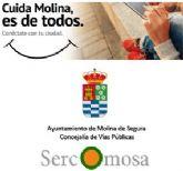 Ayuntamiento y Sercomosa ponen una campaña de información y sensibilización sobre los servicios de limpieza y recogida de basuras