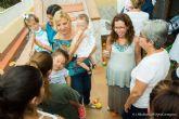 Los niños y niñas del Hogar de la Infancia, de veraneo en La Manga